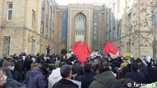 Iran Protest gegen Außenminister Mohammed Dschawad Sarif