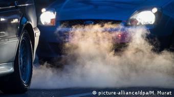 Treibhausgase Auto Verkehr Klima