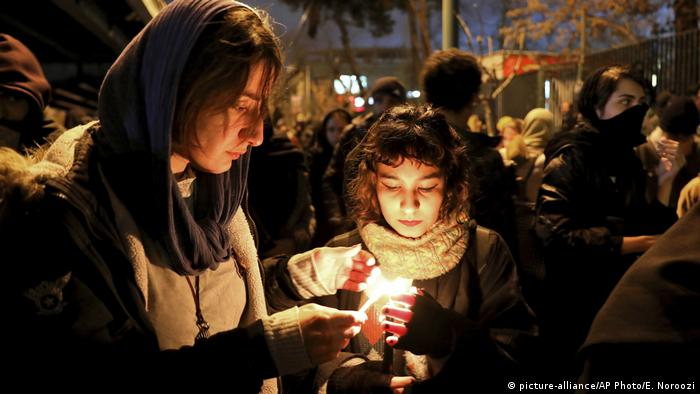 Ocak başında düşürülen Ukrayna uçağı Tahran rejimine halk arasında destek kaybettirdi.
