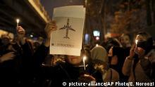Iran Gedenken Abschuss ukrainisches Flugzeug