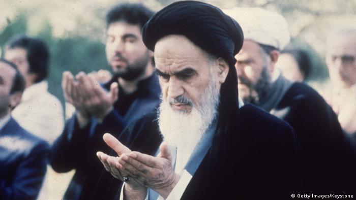 Ajatollah Ruhollah Chomeini (Getty Images/Keystone)