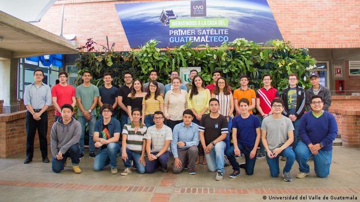 El equipo de investigadores de la Universidad del Valle de Guatemala.