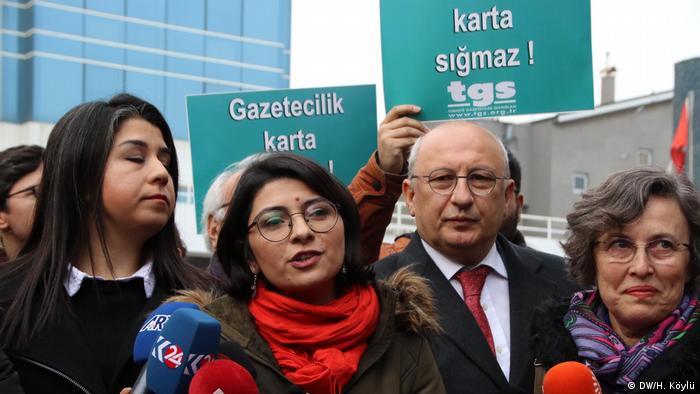 TGS Ankara Şube Başkanı Esra Koçak