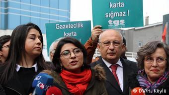 Türkiye Gazeteciler Sendikası Ankara Şube Başkanı Esra Koçak