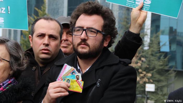 Cumhuriyet gazetesi muhabiri Ozan Çepni