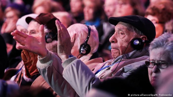 Auschwitz'deki kamptan kurtulanlar