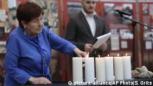 Weißrussland Holocaust Gedenktag 75. Jahrestag Befreiung Auschwitz