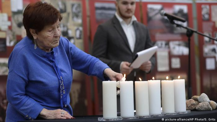 Commemoration in Belarus (picture-alliance/AP Photo/S. Grits)