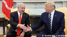 USA Washington Weißes Haus | Benjamin Netanjahu, Israel & Donald Trump, Präsident