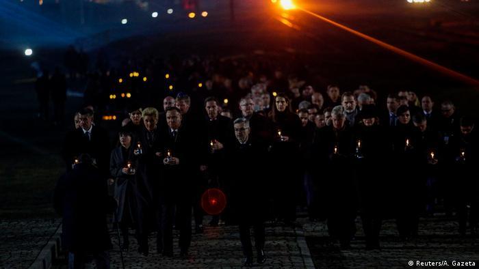 Obchody 75.rocznicy wyzwolenia niemieckiego nazistowskiego obozu Auschwitz-Birkenau