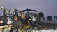 Afghanistan US-Flugzeugabsturz in der Provinz Ghazni