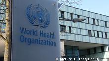 Schweiz Hauptsitz der Weltgesundheitsorganisation (WHO) in Genf