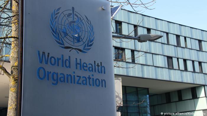 Schweiz Hauptsitz der Weltgesundheitsorganisation (WHO) in Genf (picture-alliance/Xinhua/L. Qu)
