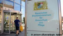 The Bavarian Health Ministry in Munich (picture-alliance/dpa/A. Gebert)