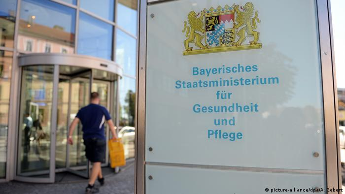 bayerisches Gesundheitsministerium in München (picture-alliance/dpa/A. Gebert)