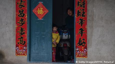 Ferie noworoczne w cieniu wirusa/ Wuhan (Getty Images/AFP/H. Retamal)