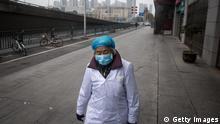 BG Alltag in der abgeriegelten Stadt Wuhan