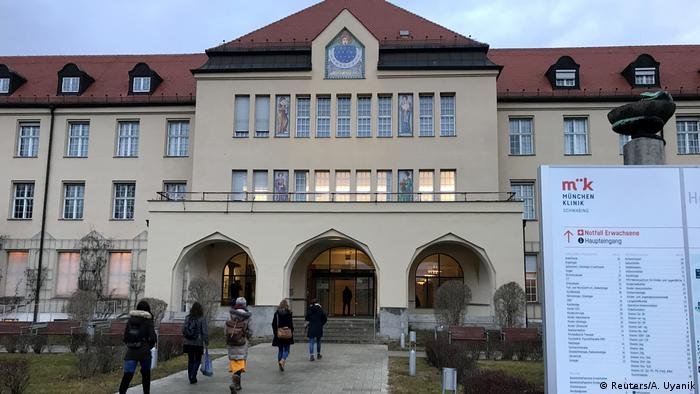 Klinik Schwabing di Jerman (Reuters/A. Uyanik)