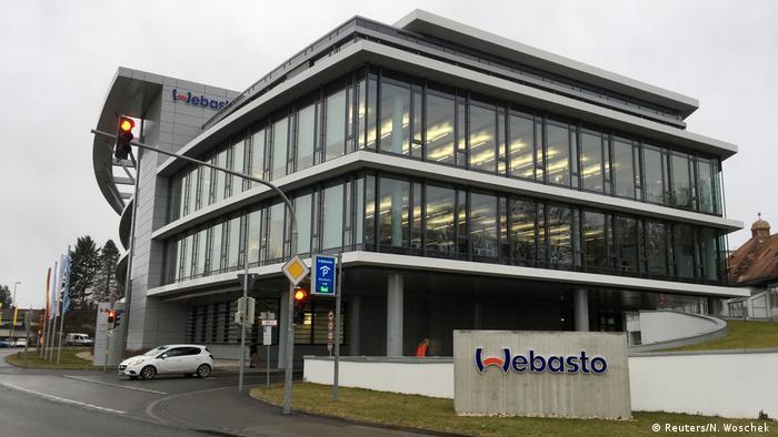 Deutschland Coronavirus Webasto Hauptquartier (Reuters/N. Woschek )