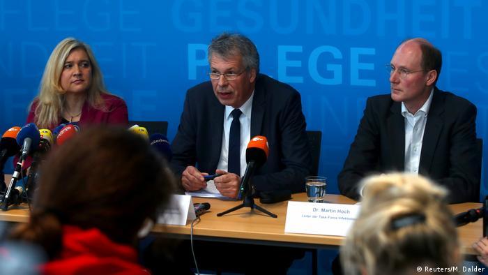 Deutschland Pressekonferenz Coronavirus