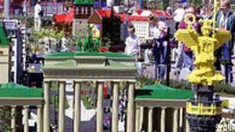 Legoland in Günzburg Brandenburger Tor