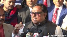 Sadhan Chandra Majumder, Bangladesh's food minister. Foto: bdnews24.com