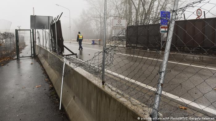Grenze Serbien - Ungarn | Grenzübergang Roszke & Horgos | nach Durchbruchsversuch