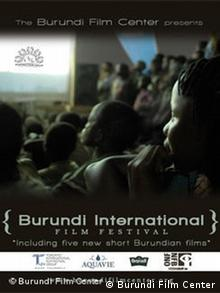 Plakat des Burundi International Film Festival (Foto: Burundi Film Center)