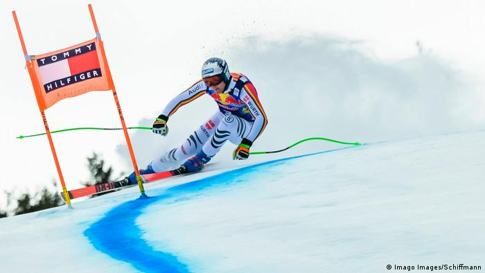 Ski-Weltcup Kitzbühel 2020   Thomas Dressen, Deutschland