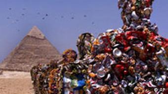 Müll in der Wüste