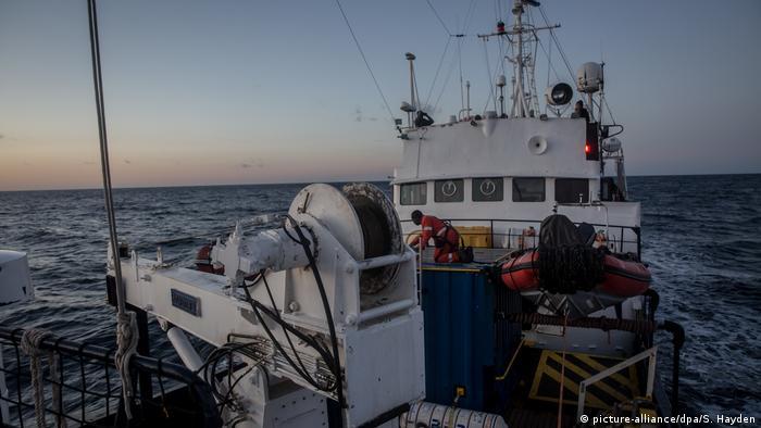 The rescue ship Alan Kurdi