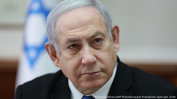 Israel 2019 | Benjamin Netanjahu, Ministerpräsident (picture-alliance/AP Photo/European Pressphoto Agency/A. Sultn)