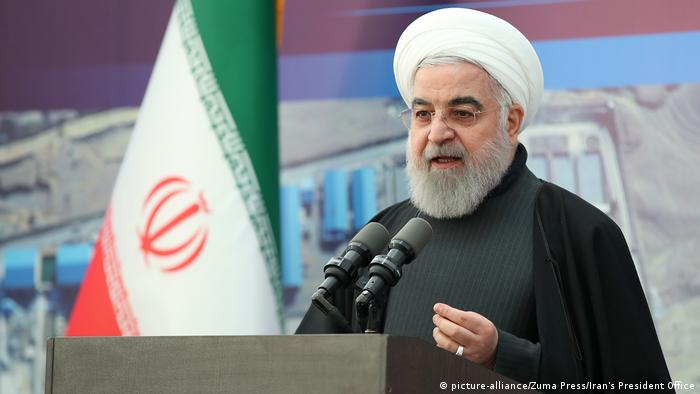 Iran Teheran | Hassan Rohani, Präsident (picture-alliance/Zuma Press/Iran's President Office)