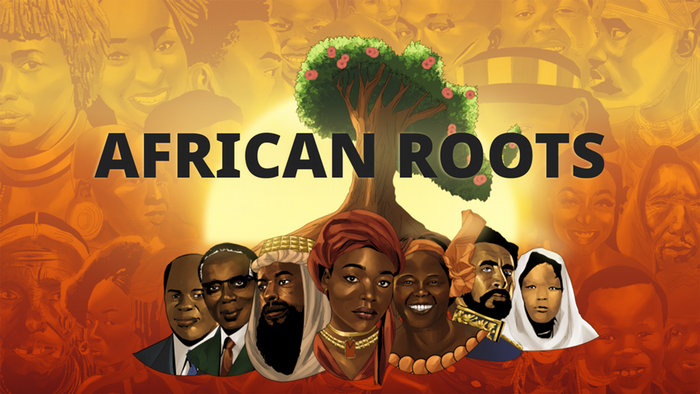 African Roots, Key Visual 2020, Picture Teaser Englisch