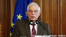 Josep Borrell in Berlin PK
