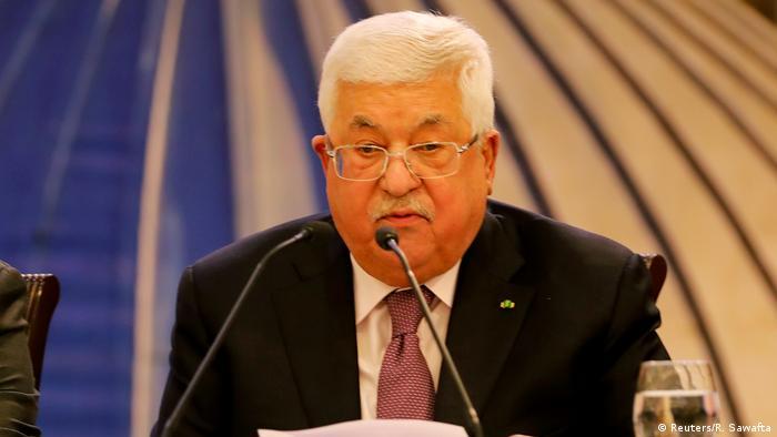 Westjordanland Mahmud Abbas   Reaktion auf Friedensplan von Donald Trump & Benjamin Netanjahu