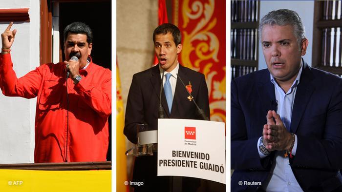 """Resultado de imagen de Duque Maduro Juan Guaidó"""""""