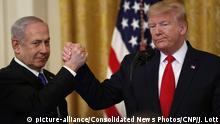 USA Israel Donald Trump und Ministerpräsident Benjamin Netanjahu