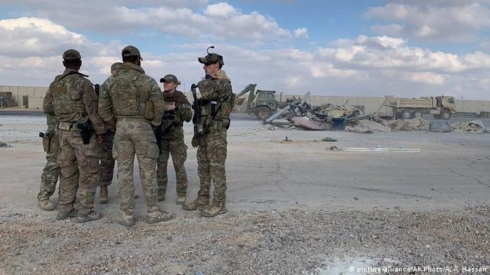 La base militar de Ain al Asad, en la provincia iraquí Al Anbar (oeste), tras un ataque similar a inicios de 2020.