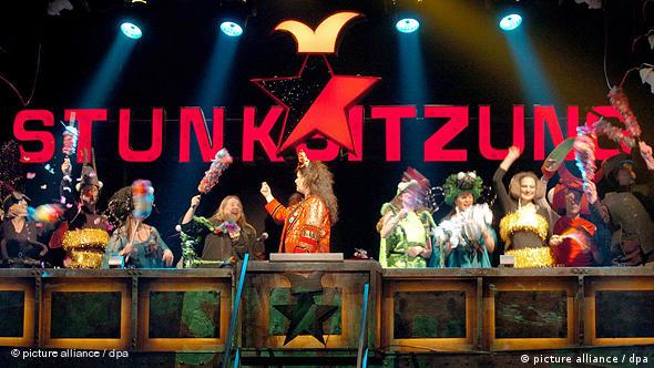 A Stunksitzung performance in Cologne