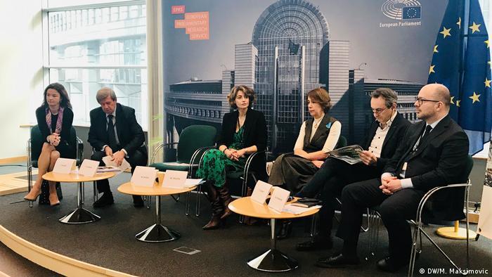 Sudionici rasprave o proširenju EU-a u Bruxellesu