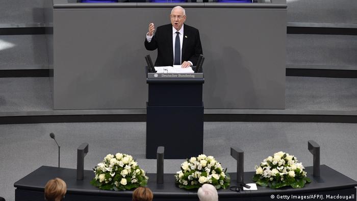 """Prezydent Izraela Rouven Rivlin ostrzegł przed """"chronicznym antysemityzmem"""""""