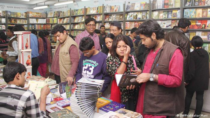 Indien Kolkata Buchmesse