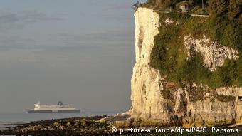 Chalk cliffs in Dover