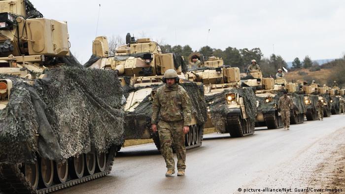 Войска США на военной базе в баварском Графенвёре, 18 января 2020 года