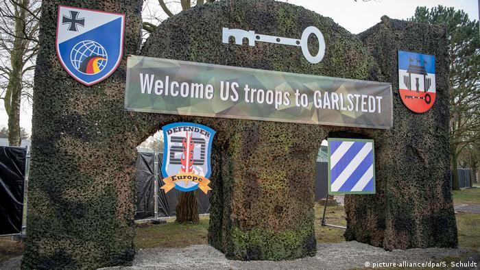 Übungen des US Militärs in Europa | US Defender Europe 20 in Garlstedt