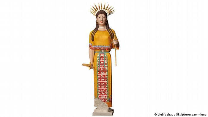 Statue of a goddess (Liebieghaus Skulpturensammlung)