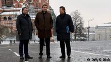 Russland Bayerischer Ministerpräsident Markus Söder besucht Moskau