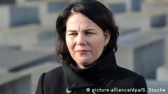 Сопредседатель партии Союз-90/зеленые Германии Анналена Бербок