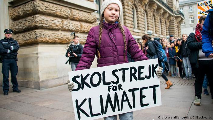 Шведська кліматична активістка Грета Тунберг